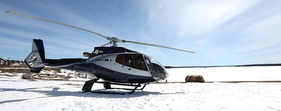 piloter hélicoptère en hiver