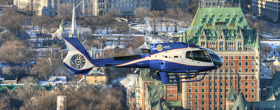 piloter hélicoptère québec